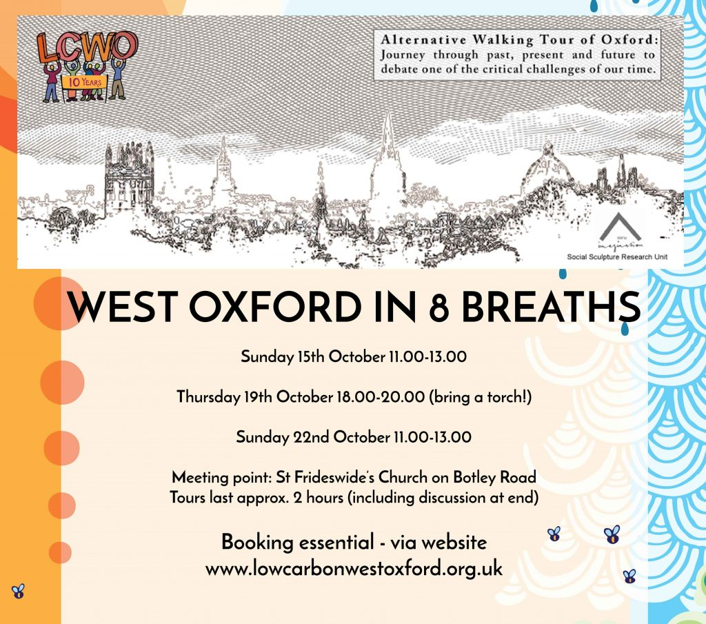 West Oxford in 8 Breaths – alternative walking tour @ Meet outside St Frideswide's Church