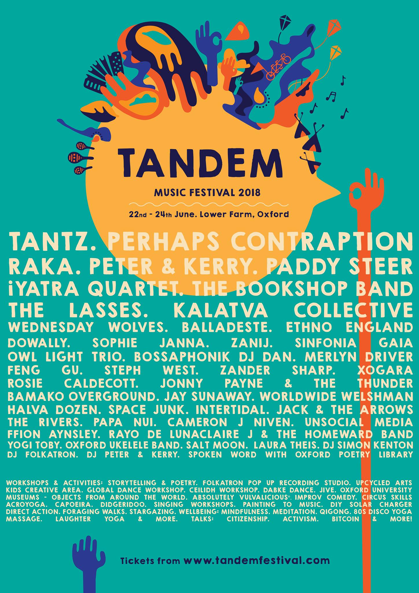 TANDEM FESTIVAL 2018 @ Lower Farm Oxford